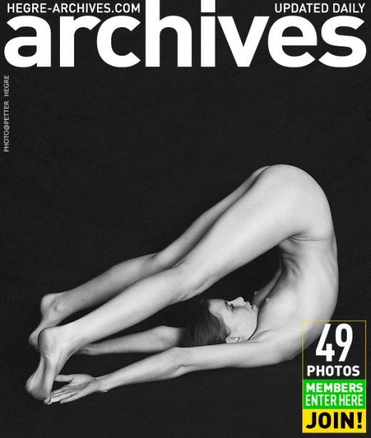 Hege-Marie - `Nude Yoga` - by Petter Hegre for HEGRE-ARCHIVES