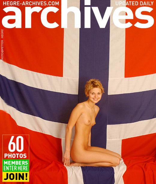 Anne - `Petite Norwegian 2 - Part 1` - by Petter Hegre for HEGRE-ARCHIVES