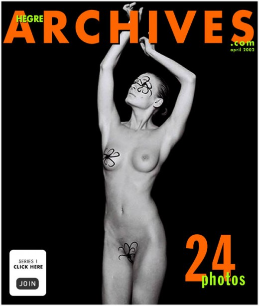 Svanhild - `Body Art` - by Petter Hegre for HEGRE-ARCHIVES