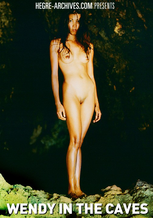 Wendy - `#1 - Wendy In The Caves` - by Petter Hegre for HEGRE-ARCHIVES