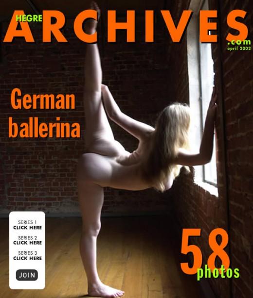 `German Ballerina` - by Petter Hegre for HEGRE-ARCHIVES