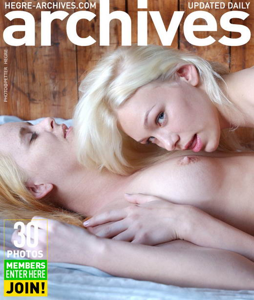 Hege-Marie & Vilita - `Two Girls In A Bed - Part 1` - by Petter Hegre for HEGRE-ARCHIVES