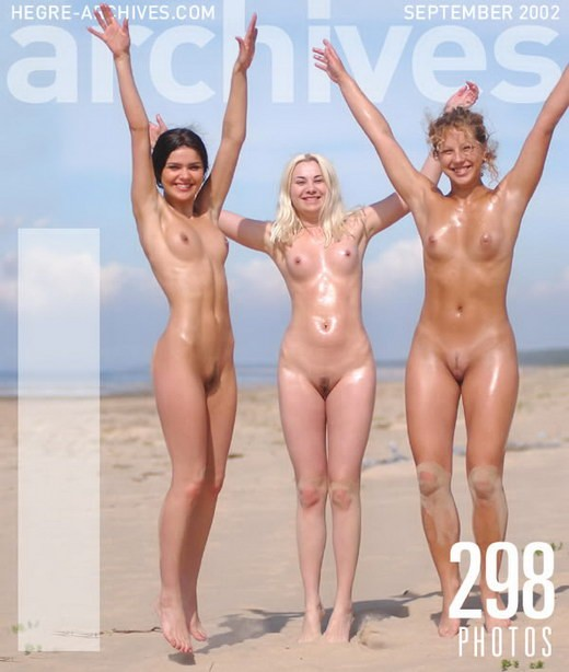 Indre & Ulrika - `Three Beautiful Beach Babes` - by Petter Hegre for HEGRE-ARCHIVES
