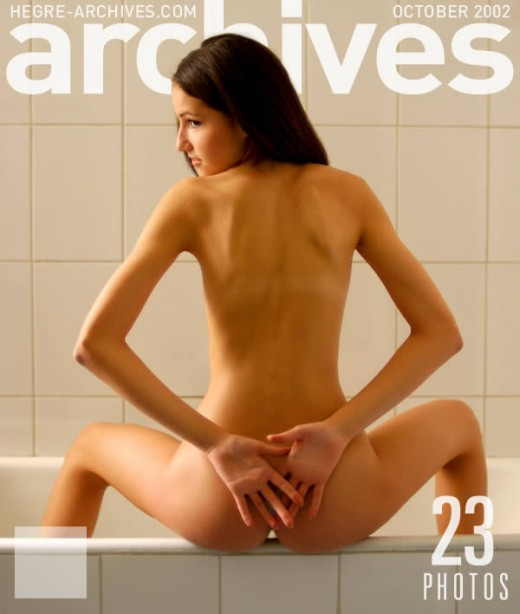 Cataline - `Girl In Bathtub` - by Petter Hegre for HEGRE-ARCHIVES