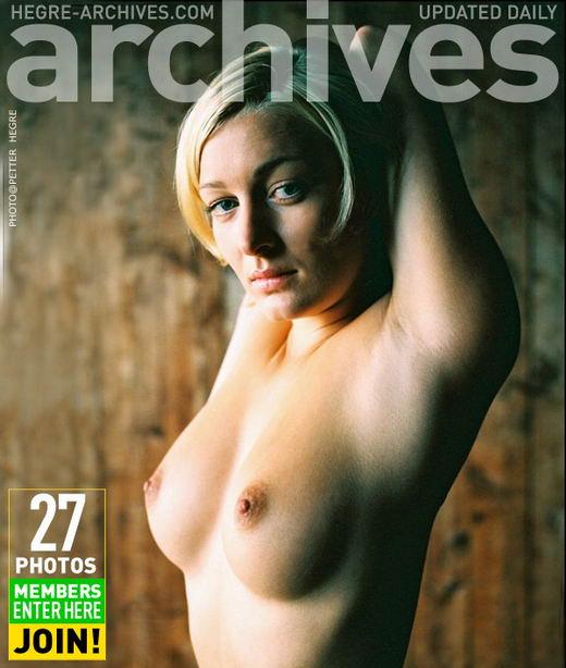 Svanhild - `Girl In The Attic` - by Petter Hegre for HEGRE-ARCHIVES