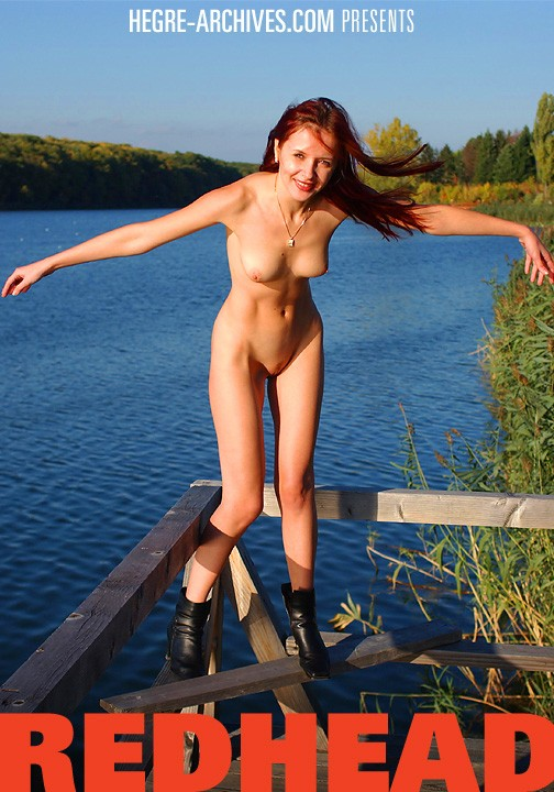 Alina - `#18 - Redhead` - by Petter Hegre for HEGRE-ARCHIVES