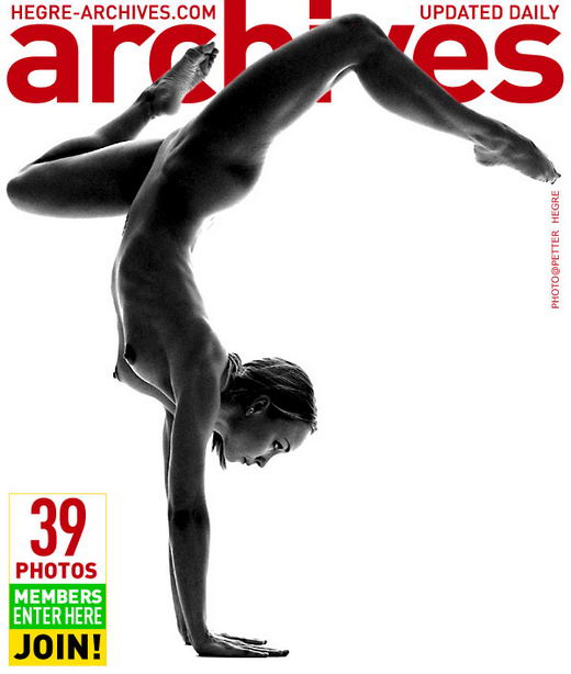 Vibeke - `Nude Yoga - Part 1` - by Petter Hegre for HEGRE-ARCHIVES