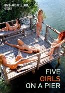 #28 - Five Girls On A Pier