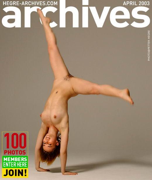 Ingrid - `Dancer Girl` - by Petter Hegre for HEGRE-ARCHIVES