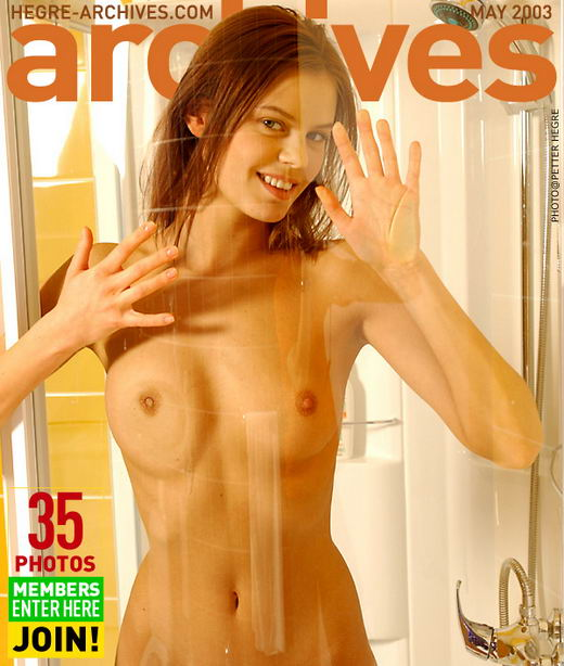 Vika in In The Shower gallery from HEGRE-ARCHIVES by Petter Hegre