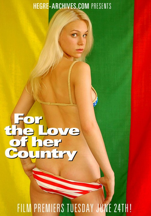 Vilita - `#43 - For The Love Of her Country` - by Petter Hegre for HEGRE-ARCHIVES