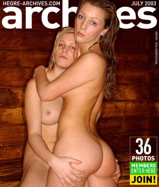 Selma & Marit - `Sauna Girls - Part 2` - by Petter Hegre for HEGRE-ARCHIVES