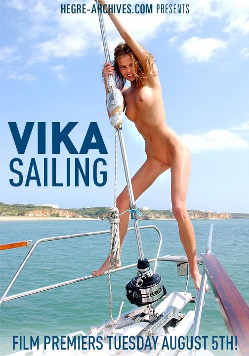 Vika - `#49 - Sailing` - by Petter Hegre for HEGRE-ARCHIVES
