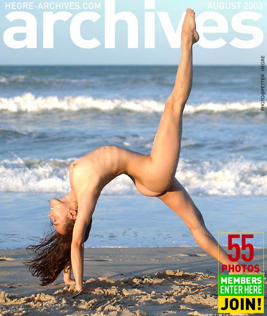 Anahi in Nude Yoga Beach gallery from HEGRE-ARCHIVES by Petter Hegre