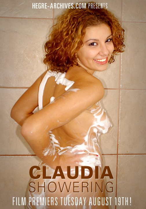 Claudia - `#51 - Showering` - by Petter Hegre for HEGRE-ARCHIVES