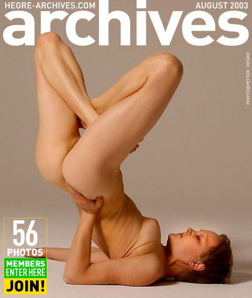 Ellen - `Nude Yoga - Part 1` - by Petter Hegre for HEGRE-ARCHIVES