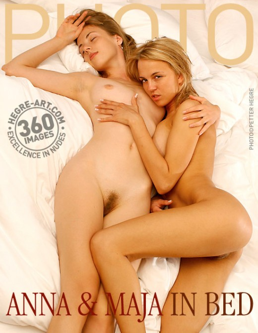 Anna & Maja - `In Bed` - by Petter Hegre for HEGRE-ARCHIVES