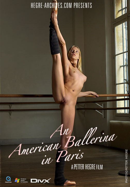 Annette - `#99 - An American Ballerina In Paris` - by Petter Hegre for HEGRE-ARCHIVES