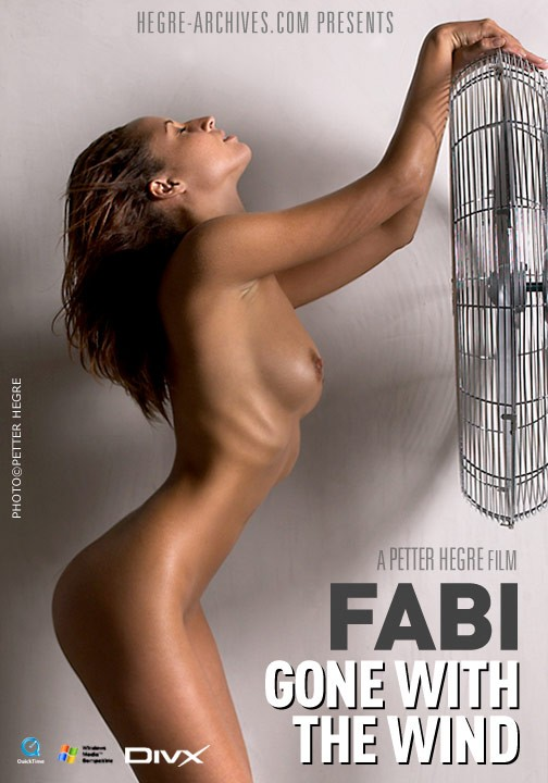 Fabi - `#113 - Gone With The Wind` - by Petter Hegre for HEGRE-ARCHIVES