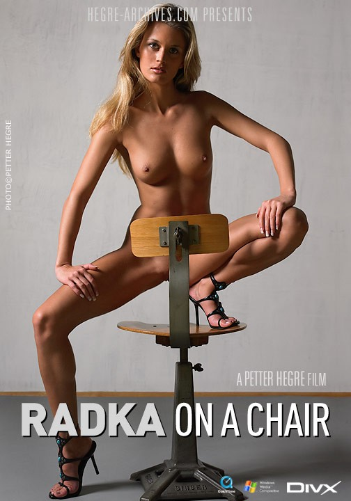 Radka - `#114 - On A Chair` - by Petter Hegre for HEGRE-ARCHIVES
