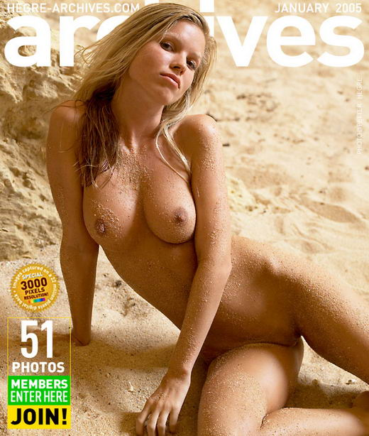 Marketa in In The Sand gallery from HEGRE-ARCHIVES by Petter Hegre