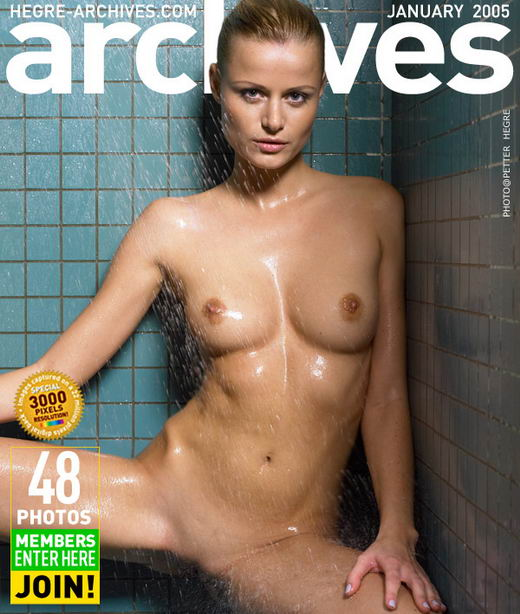 Sofia in Showering gallery from HEGRE-ARCHIVES by Petter Hegre