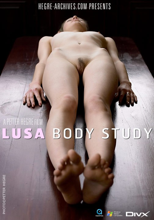 Lusa - `#125 - Body Study` - by Petter Hegre for HEGRE-ARCHIVES