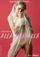 Alla - #124 - Pink And White