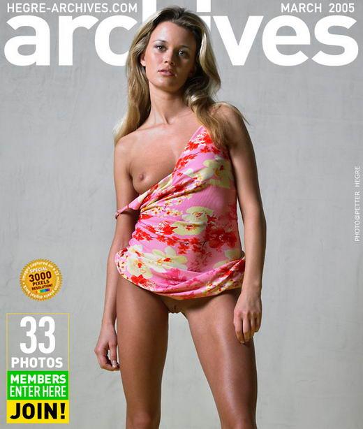 Radka - `Summer Dress` - by Petter Hegre for HEGRE-ARCHIVES