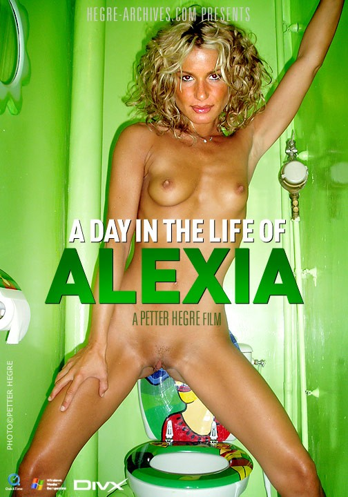 Alexia - `#133 - A Day In the Life Of Alexia` - by Petter Hegre for HEGRE-ARCHIVES