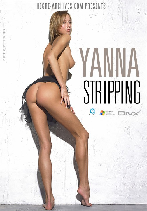 Yanna - `#144 - Stripping` - by Petter Hegre for HEGRE-ARCHIVES