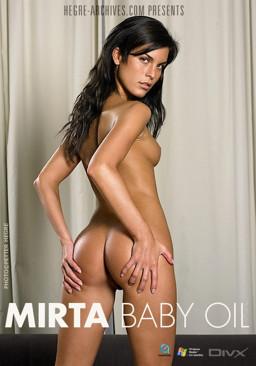 Mirta - `#146 - Baby Oil` - by Petter Hegre for HEGRE-ARCHIVES