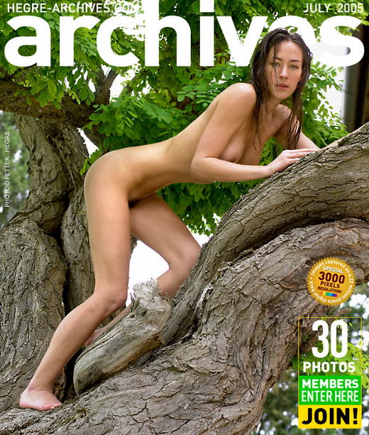 Kathryn - `In A Tree` - by Petter Hegre for HEGRE-ARCHIVES