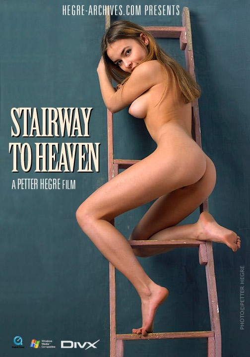 Nina - `#149 - Stairway To Heaven` - by Petter Hegre for HEGRE-ARCHIVES