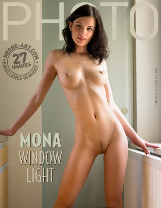 Mona - `Window Light` - by Petter Hegre for HEGRE-ARCHIVES