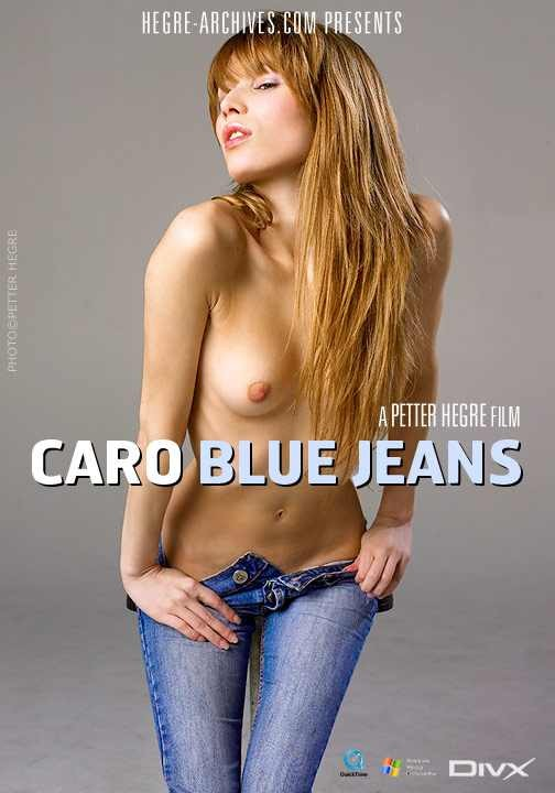Caro - `#155 - Blue Jeans` - by Petter Hegre for HEGRE-ARCHIVES
