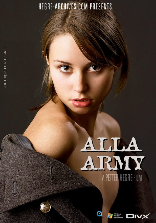 Alla - `#157 - Army` - by Petter Hegre for HEGRE-ARCHIVES