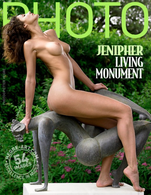 Jennipher - `Living Monument` - by Petter Hegre for HEGRE-ARCHIVES