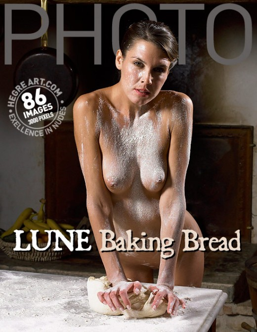 Lune - `Baking Bread` - by Petter Hegre for HEGRE-ARCHIVES