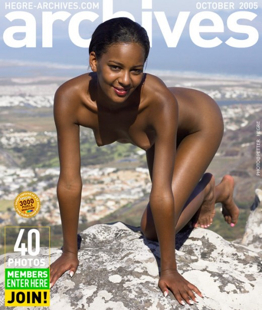 Naomi - `On The Table Mountain` - by Petter Hegre for HEGRE-ARCHIVES
