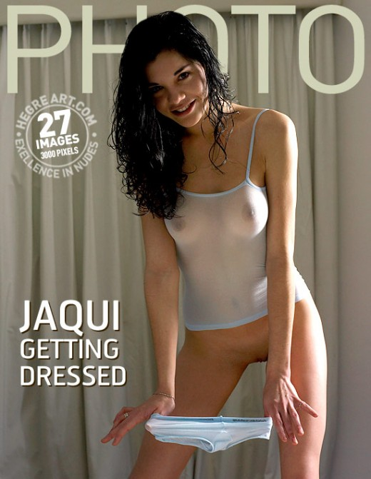 Jaqui - `Getting Dressed` - by Petter Hegre for HEGRE-ARCHIVES