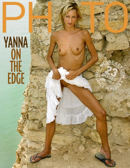 Yanna - `On The Edge` - by Petter Hegre for HEGRE-ARCHIVES