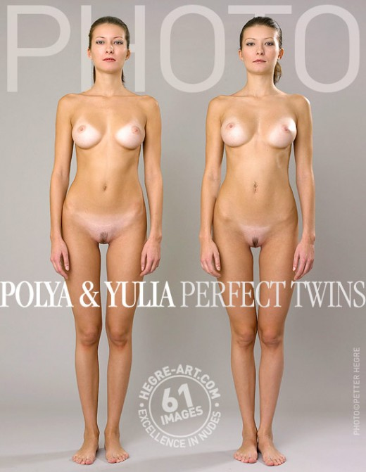 Polya & Yulia - `Perfect Twins` - by Petter Hegre for HEGRE-ARCHIVES