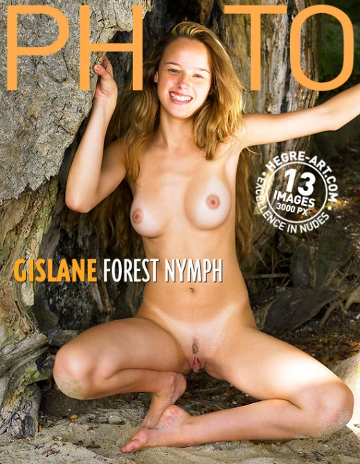 Gislane - `Forest Nymph` - by Petter Hegre for HEGRE-ARCHIVES