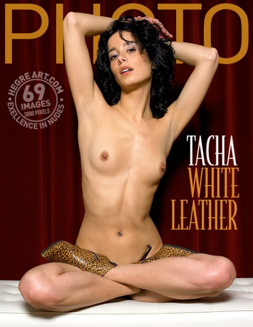Tacha - `White Leather` - by Petter Hegre for HEGRE-ARCHIVES