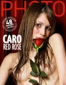 Caro in Red Rose gallery from HEGRE-ARCHIVES by Petter Hegre
