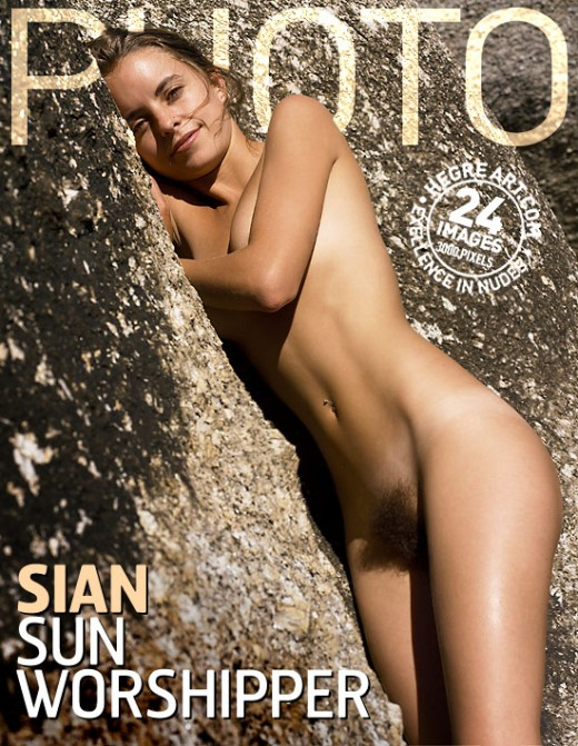 Sian - `Sun Worshipper` - by Petter Hegre for HEGRE-ARCHIVES