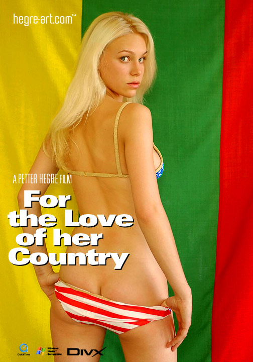 Vilita - `#21 - For the Love of her Country` - by Petter Hegre for HEGRE-ART VIDEO