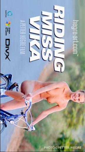 Vika - `#23 - Riding Miss Vika` - by Petter Hegre for HEGRE-ART VIDEO