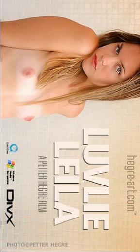 Leila - `#29 - Luvlie Leila` - by Petter Hegre for HEGRE-ART VIDEO